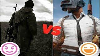 PlayerUnknown's Battlegrounds VS DayZ КТО КОГО?