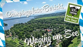 Campingplatz Bayern - Strandcamping Waging am See - mein Bericht