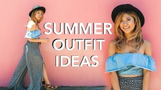 Summer Fashion Trends Lookbook 2016! 6 Outfit Ideas