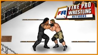 WWE Tournament of DEATH! - Fire Pro Wrestling Returns
