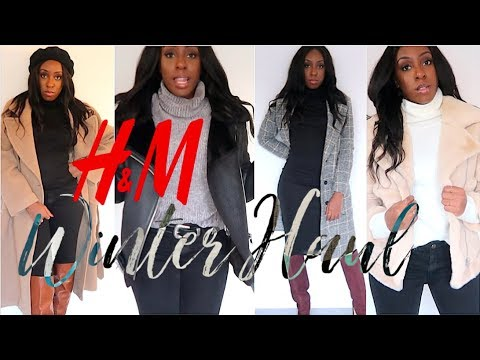 HUGE H&M TRY ON HAUL & UNBOXING | WINTER FASHION HAUL - KNEE HIGH BOOTS & JUMPERS