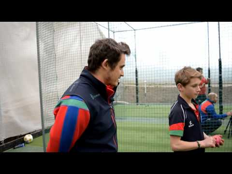 Cricket Spin Bowling Coaching Session