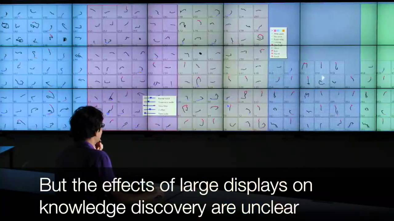 Effects of Display Size and Resolution on User Behavior and