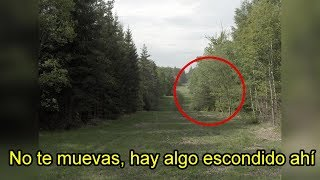 Extraña Criatura Ataca a Jóvenes en un Bosque (VIDEO REAL)