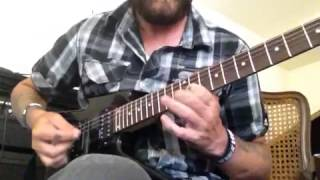"Guitar cover of Volbeat ""heaven nor hell"""