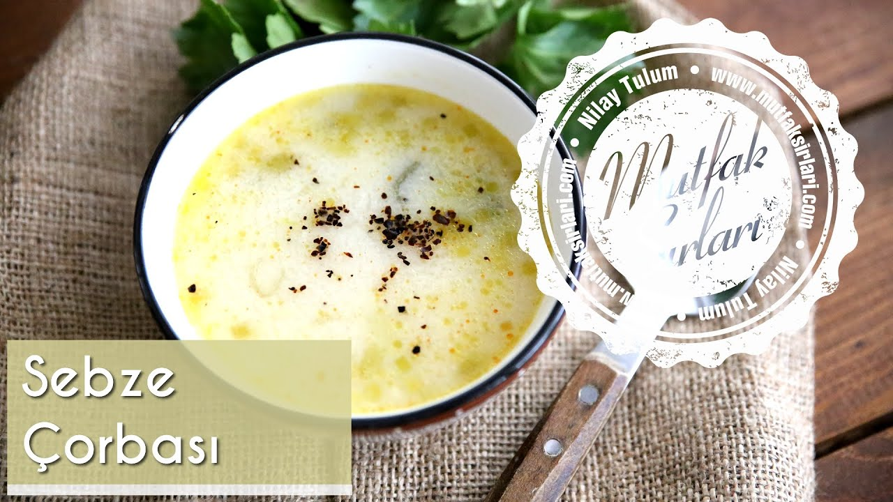 Kolay Sebze Çorbası Nasıl Yapılır