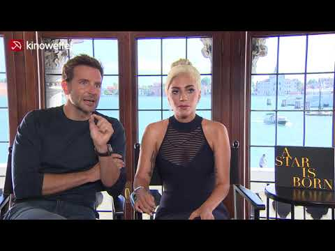 Interview Bradley Cooper  & Lady Gaga A STAR IS BORN