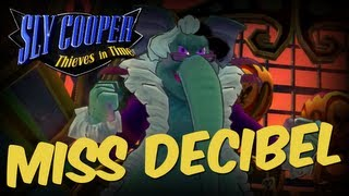 Sly Cooper: Thieves In Time (1080p) Boss Miss Decibel No Damage Walkthrough Sly Cooper 4 PS3 VITA