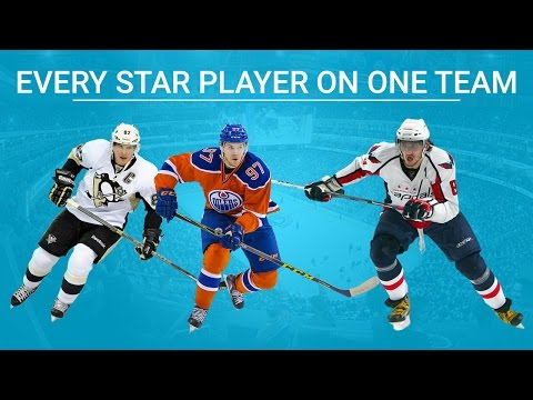 TEAM FULL OF THE BEST PLAYERS! (NHL 17)