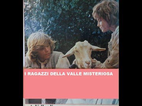 "SERIE RAI  TV 1984  ""I RAGAZZI DELLA VALLE MISTERIOSA""  Kim Rossi Stuart,Veronika Logan"