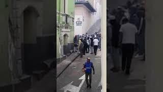 DESTRUCCIÓN DEL MOBILIARIO URBANO