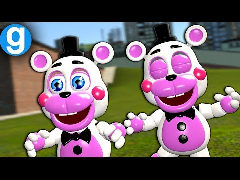 BRAND NEW FNAF 6 PILL PACK SPOTLIGHT HELPY! Five Nights at Freddy's Garry's Mod Sandbox For Kids