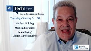 Clear Your Calendars for Plastics Technology 'Tech Days'