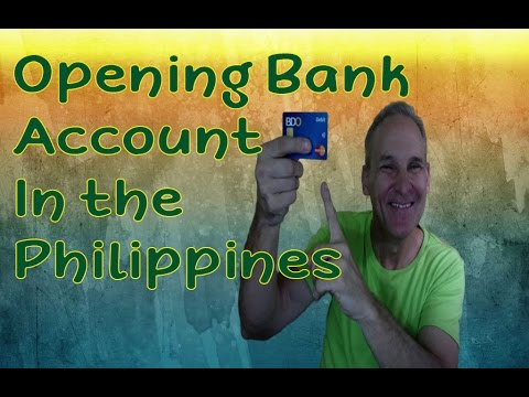 How to Open Bank Account in the Philippines Philippine Vlogg
