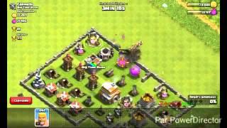 Clash of clans petit gameplay