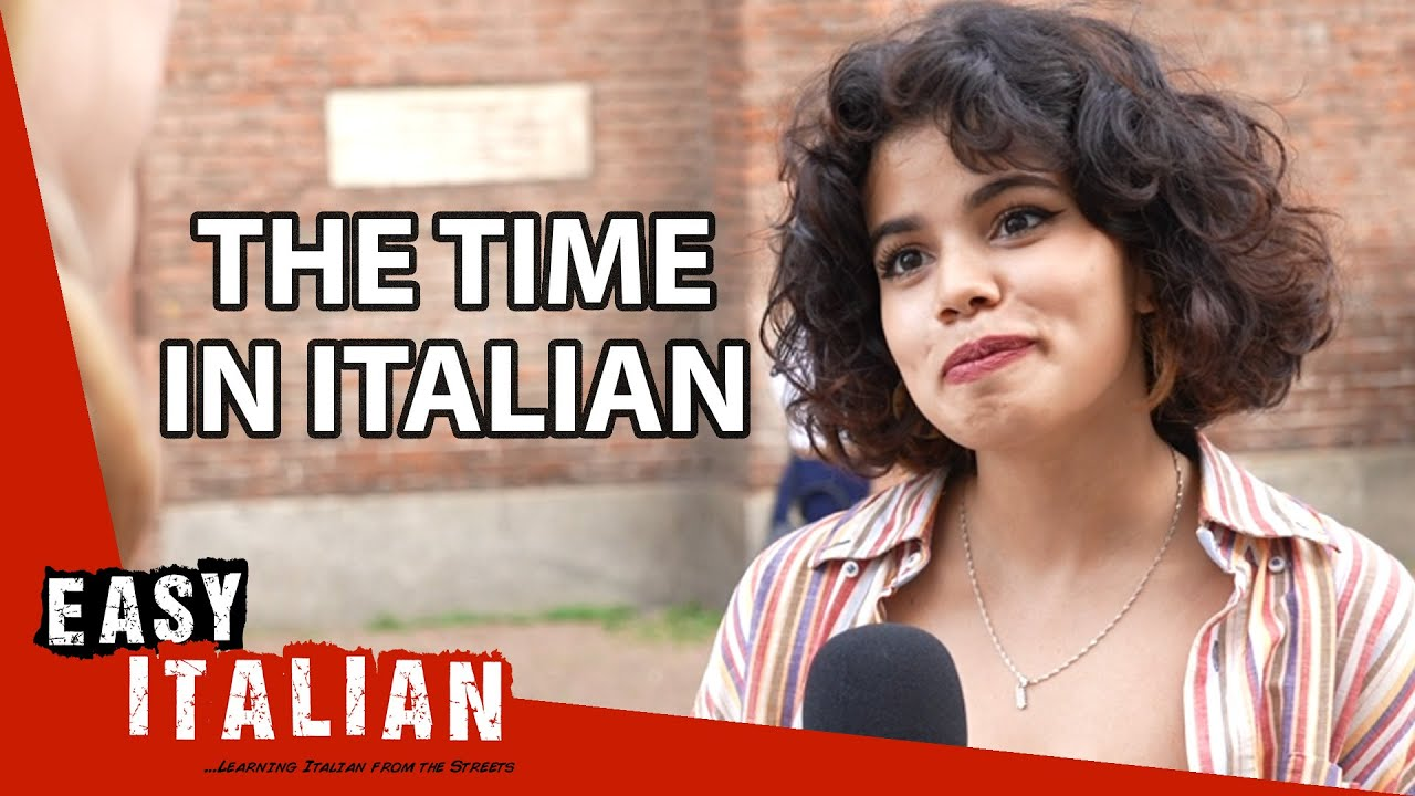 How to Tell the Time in Italian | Easy Italian 87
