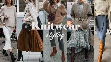 니트 시크하게 입는 법! (FT. 자라 니트 신상, H&M, Mango) /ZARA 최애니트 /니트코디 /F/W스타일링