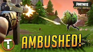 AMBUSHED! (New Bush Meta) Fortnite Battle Royale