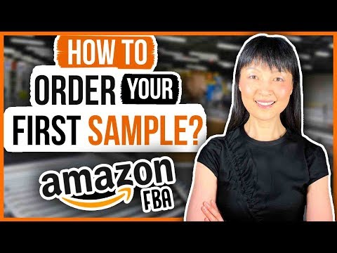 HOW TO ORDER SAMPLE FOR AMAZON FBA (3 STEPS)
