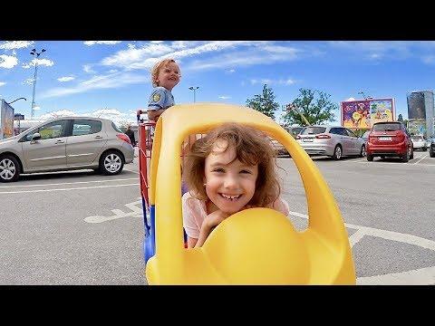 Shoppar i liten bil VLOGG