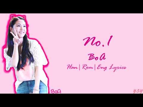 BoA (보아) - No.1  [Han/Rom/Eng Lyrics]