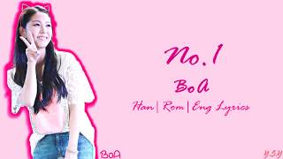Gambar cover BoA (보아) - No.1  [Han/Rom/Eng Lyrics]