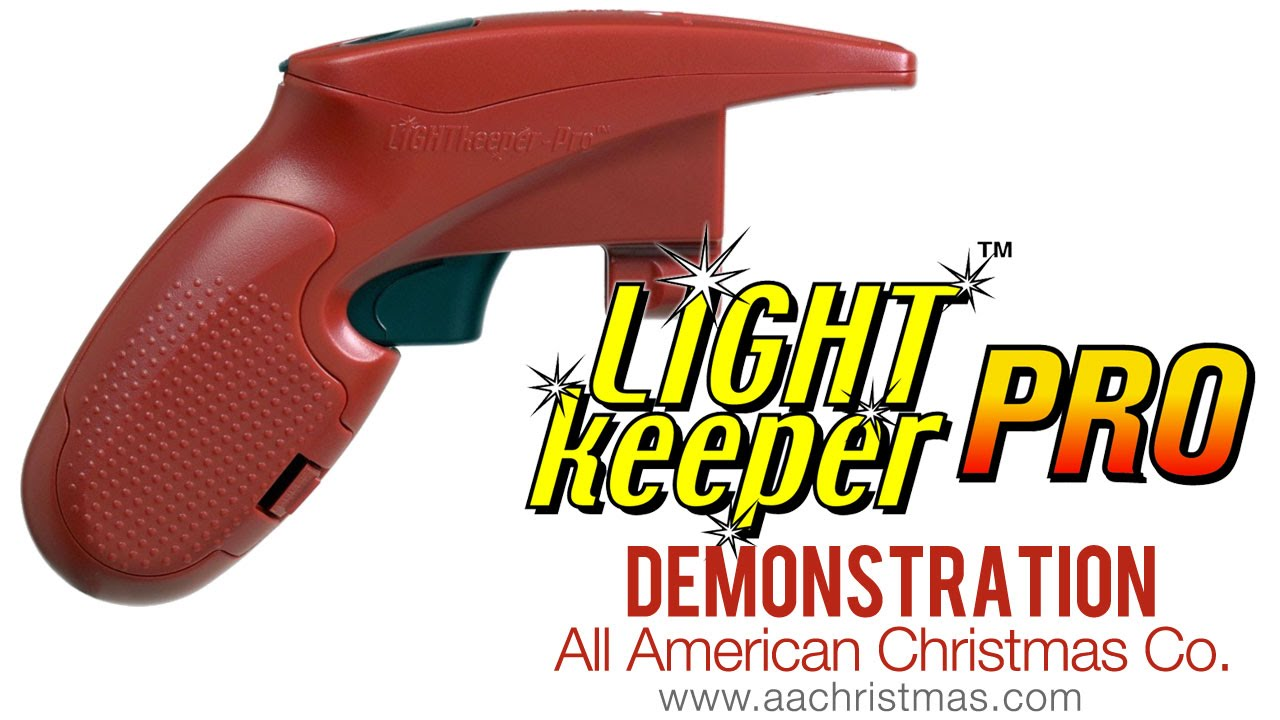 Light Keeper Pro Mini Christmas Light Tester Demo - YouTube