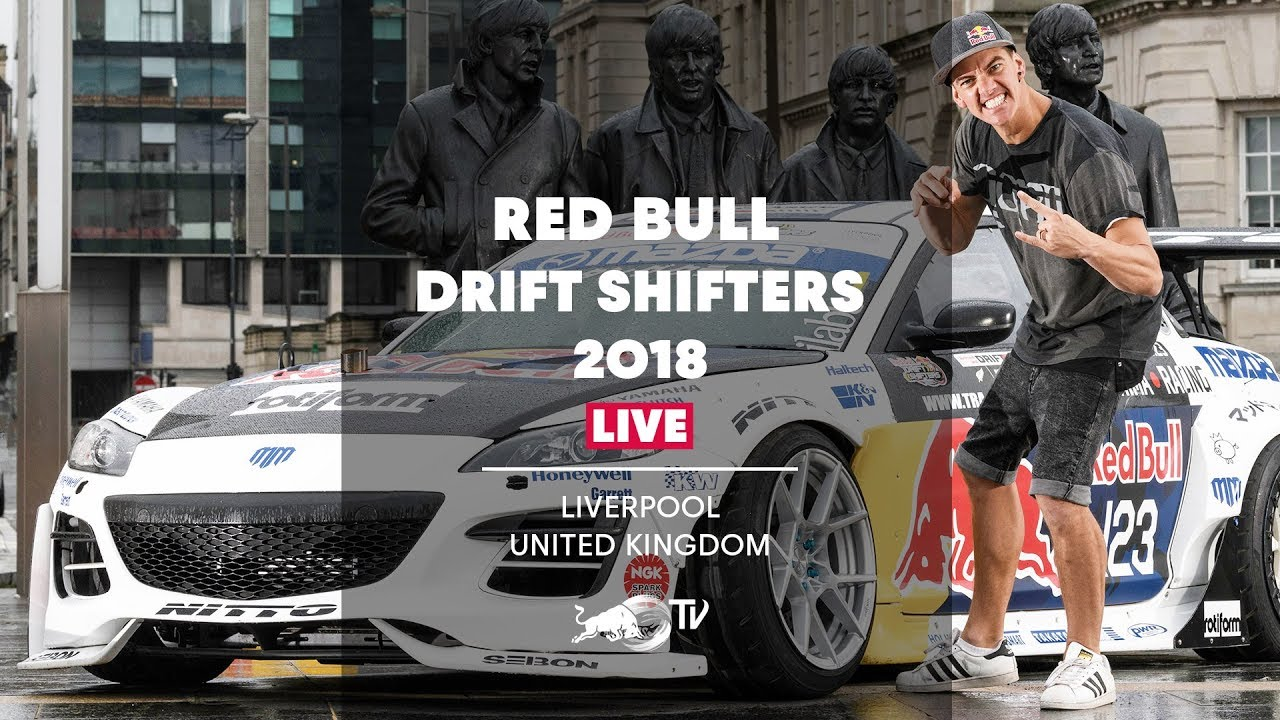 Red Bull Drift Shifters 2018 LIVE - Aerokit 2018-08-19 14:10