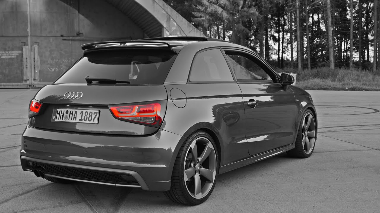 audi a1 s line carporn youtube. Black Bedroom Furniture Sets. Home Design Ideas