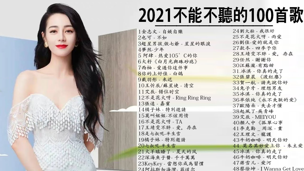 20212021 2021 Top Chinese Songs 2021