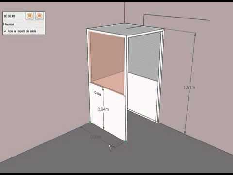 Como hacer una cabina de grabacion youtube - Como hacer una mosquitera ...