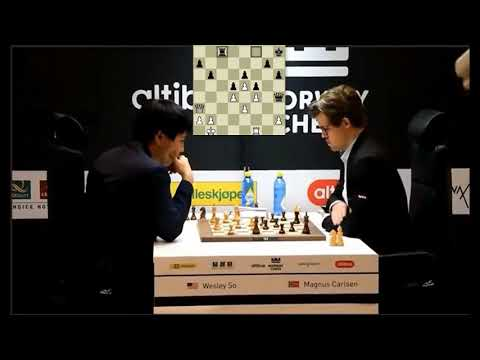 QUEEN AND ROOK ENDGAME!!! Wesley So Vs Magnus Carlsen - Blitz Chess 2017 Norway