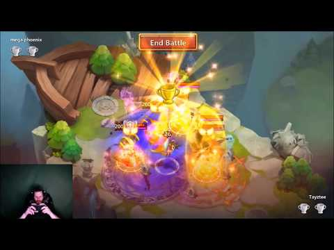 JT's Free 2 Play Going For 1000 Score Lost Battlefield Final Day Castle Clash