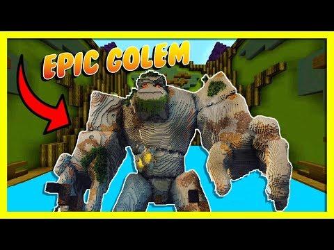 Minecraft - EPIC GOLEM BUILD BATTLE! w/ Little Ropo