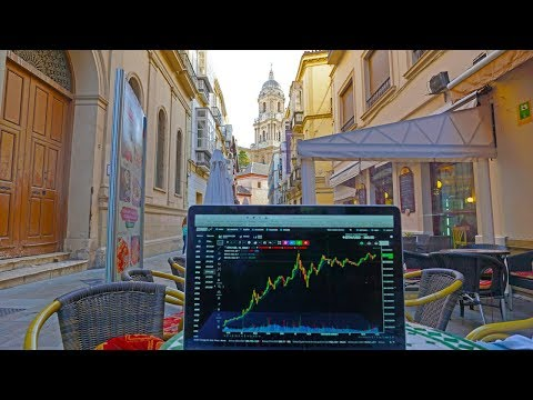 Nomad Lifestyle: Trading Cryptocurrencies While Traveling Through Spain