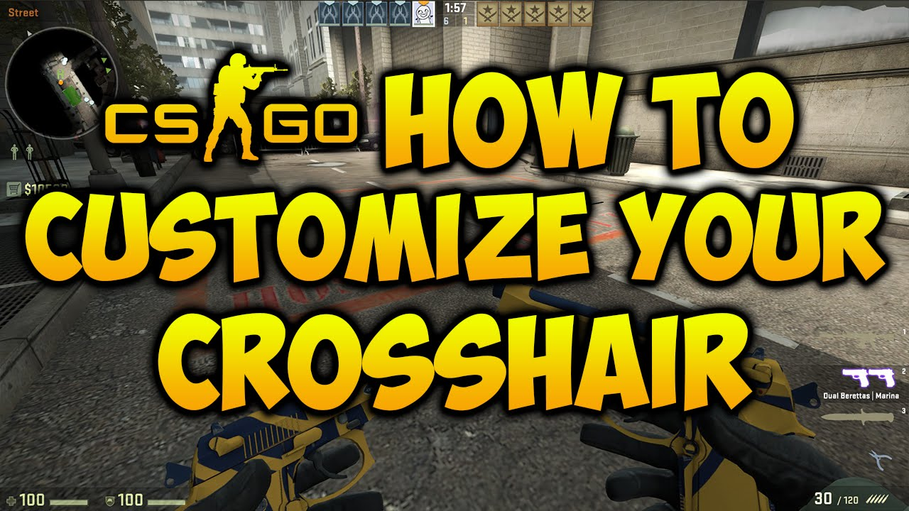 Csgo How To Change Your Crosshair Works 2017 Youtube Mouse Optick Voltre