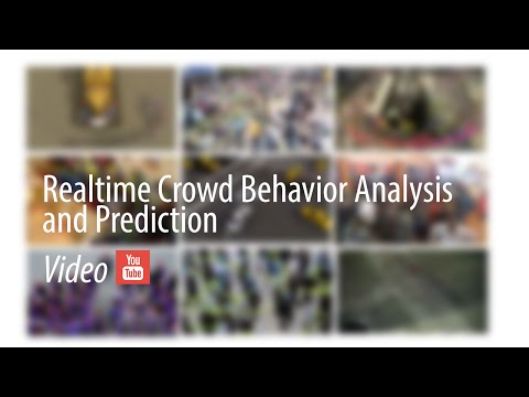 Realtime Crowd Behavior Analysis and Prediction