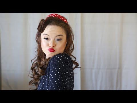 Thumbnail: Model With Down Syndrome Challenges Beauty Stereotypes: BORN DIFFERENT