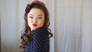 Model With Down Syndrome Challenges Beauty Stereotypes: BORN DIFFERENT