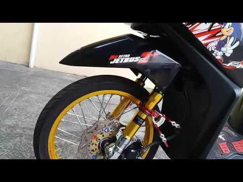 Modifikasi Honda Beat Fi 2014 Hitam Youtube
