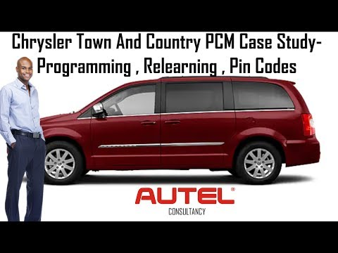 Maxisys Elite PCM Programming , IM508 Pin Code And Key Coding On Chrysler Town And Country