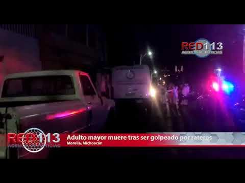 VIDEO Adulto mayor muere tras ser golpeado por rateros dentro de un domicilio, en Morelia