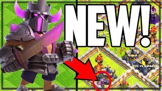 NEW! PEKKA King Skin - Clash of Clans Update! Gameplay and MORE!