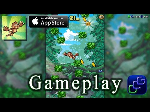 Monkey Swingers iOS Gameplay