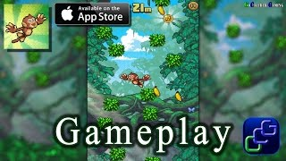 Monkey Swingers iOS Gameplay