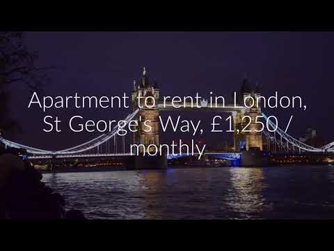 Apartment to rent in London, St George's Way, £1,250 / monthly