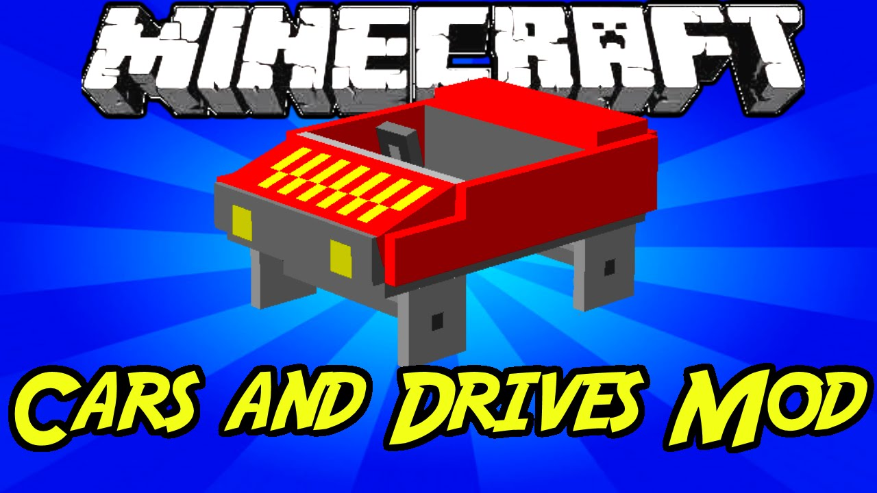 Minecraft Mods Cars And Drives Mod 1 7 10