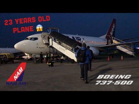 Flying with NAM Air Boeing 737-500   Flight IN377   Bandung to Surabaya
