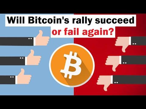 Will Bitcoin's Rally Succeed or Fail (again)?