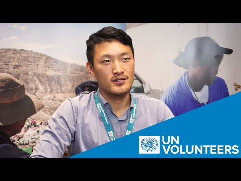 Promoting Stories Of UN Volunteers Contributing To Peace And Development